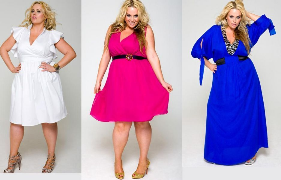 Модные платья для полных 2014 выкройки - Модные стильные платья 2014