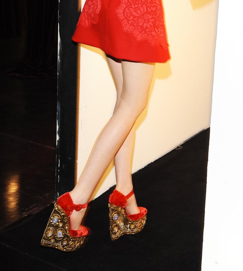 dolce gabbana fall winter 2013 shoes rich Dolce & Gabbana Fall/Winter 2013: Powerful