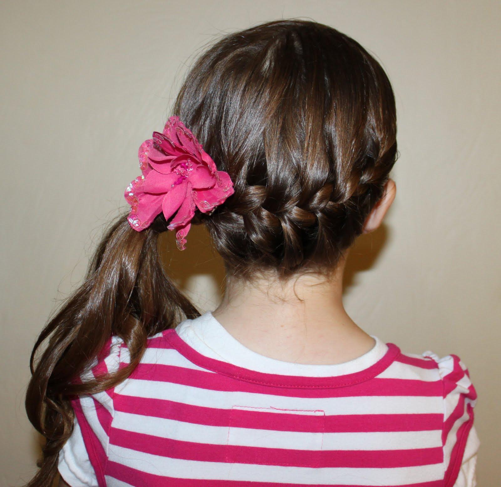 Super Side French Braid Ponytail 59644 Dfiles Short Hairstyles Gunalazisus